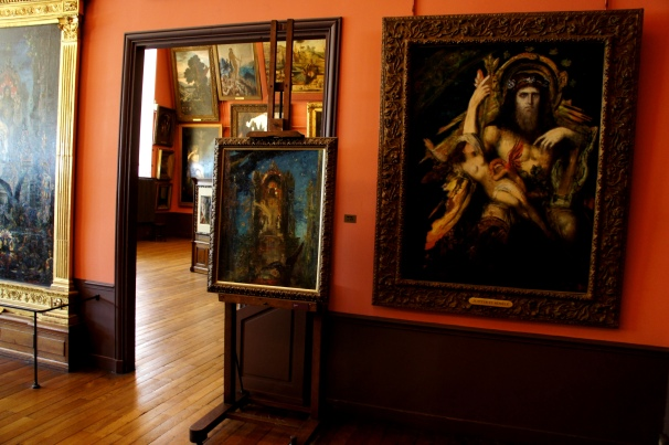 Museum  of Gustave Moreau. Photo by Anna Czaplewska