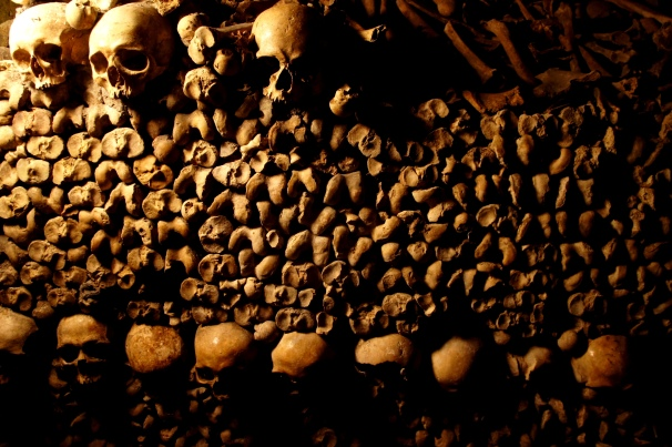 Catacombs of Paris. Photo by Anna Czaplewska