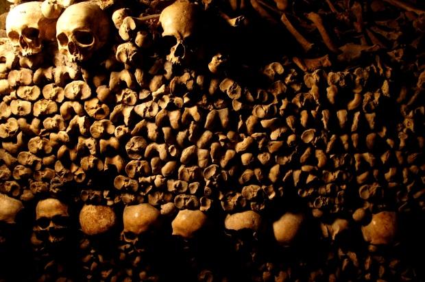 Catacombs of Paris. Photo by Anna Czaplewska