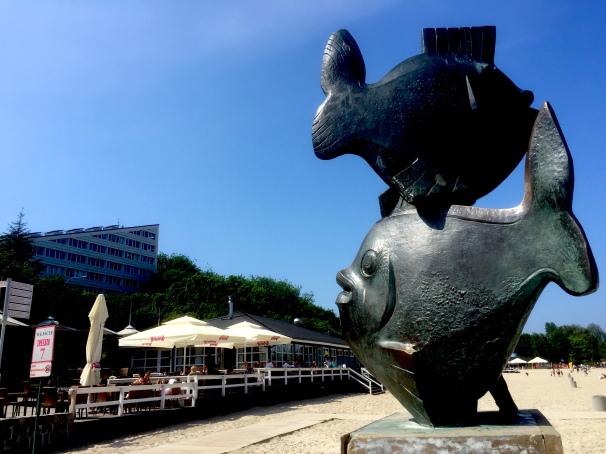 """Rybki"" at Gdynia's boulevard"